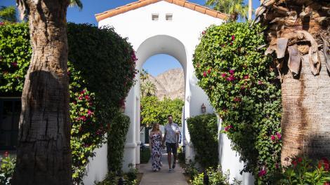 Pareja en La Quinta Resort & Club en Palm Springs, California