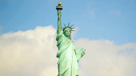 La Statue of Liberty, un ícono de la Ciudad de Nueva York