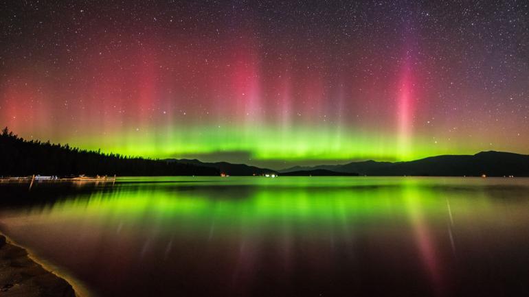 Cinco Lugares Para Ver La Aurora Boreal En Estados Unidos