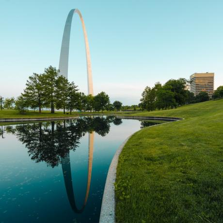 Gateway Arch National Park en St. Louis, Misuri