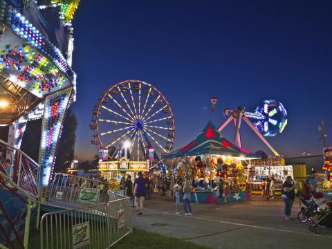 Juegos en la Ozark Empire Fair