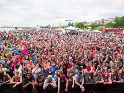 Beale Street Music Festival repleto de público