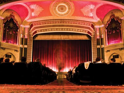 The Oriental Theater, lugar donde se desarrolla el Milwaukee Film Festival