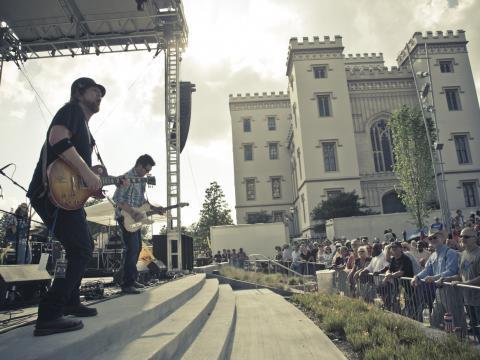 Improvisación en Baton Rouge Blues Festival