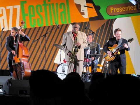 Un buen espectáculo en el Monterey Jazz Festival