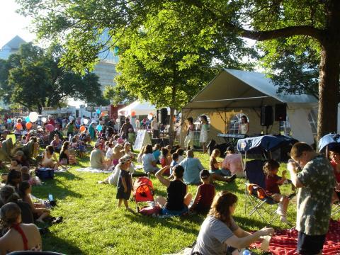 Música y pícnic en Summer Fete