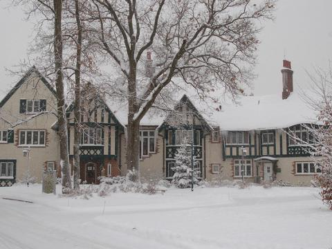 Kellogg Manor House preparada para los invitados de las fiestas de fin de año