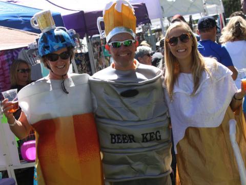 Contagiándose del espíritu de Flagstaff Oktoberfest