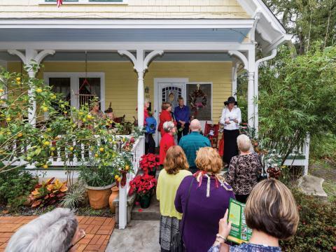 Recorre casas históricas y elegantes durante el Amelia Island Museum of History Holiday Home Tour