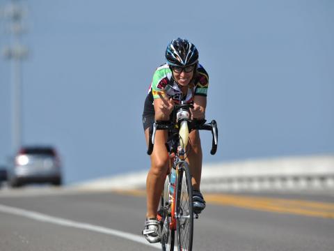 El evento en bicicleta Katie Ride for Life en Amelia Island, Florida