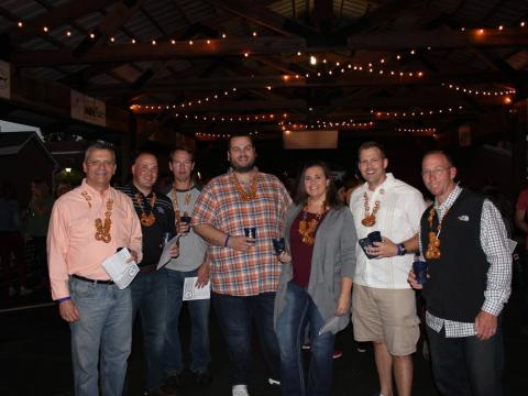 Asistentes al Bardstown Craft Beer Festival