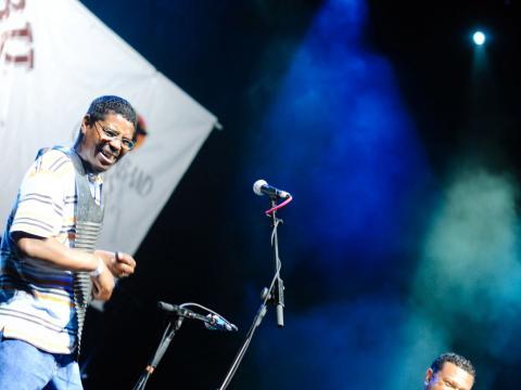 Espectáculo de música en vivo durante el Marshland Festival