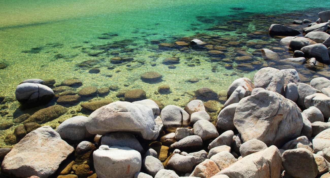 El lago Tahoe, Nevada: playa paradisiaca, deportes acuáticos ...