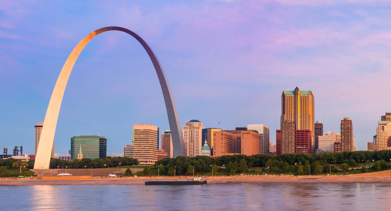 St louis visit the usa for Cabine del gateway bryce